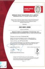 ISO 9001:2008 Certificate 2017